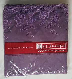 *LAST DAY* Siti Khadijah Telekung