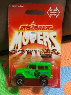 Majorette Toyota Land Cruiser Green (Made in France)