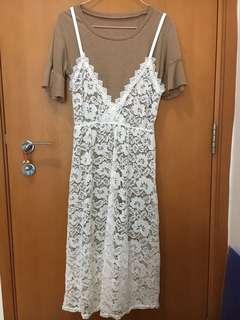韓國製 長身裙