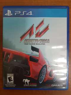 Assetto Corsa PS4 used