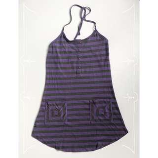 PENSHOPPE Violet Backless Mini-Dress