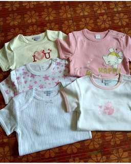 5 pcs NEW Baby Rompers