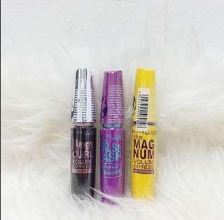 💕💕 Maskara Maybelline Bundle 3 Mascara EXCLUSIVE
