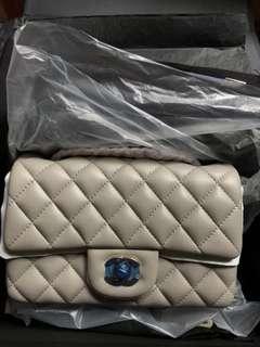Chanel mini cf with warranty