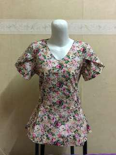 (Fix Price) Vintage Flower Blouse #Sale