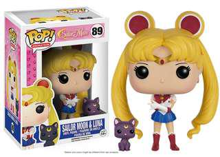 POP! ANIMATION: SAILOR MOON-SAILOR MOON WITH LUNA