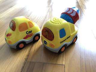 Vtech Smart Cars and Cement Mixer