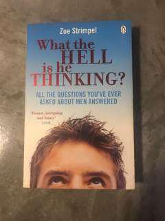 🚚 WHAT THE HELL IS HE THINKING? By Zoe Strimpel