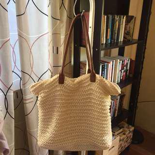 H&M Beach Straw Bag
