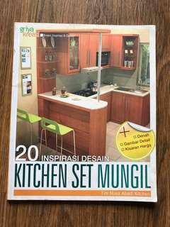 20 inspirasi design kitchen set mungil