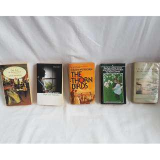 English Literary Books