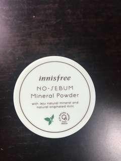 Innisfree  mineral powder