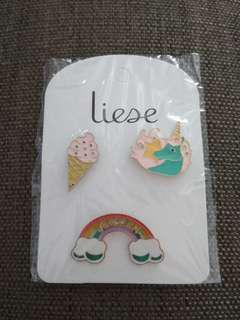🆕 Unicorn, Ice Cream & Rainbow Pins #TOYS50