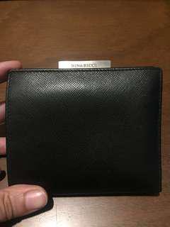 Nina Ricci Black Bifold Wallet