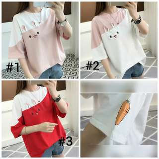 Bunny T-shirt with Carrot
