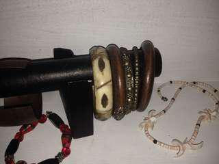 Wooden bangle bundle