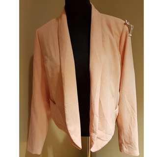 Forever 21 Plus Size Peach Blazer