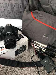 Canon 650d + accessories (offer)