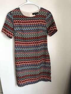 Moonriver Aztec Print Dress