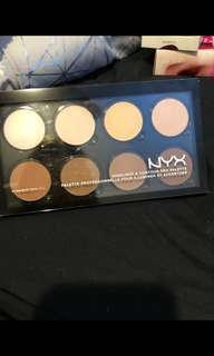 Nyx highlight contour palette