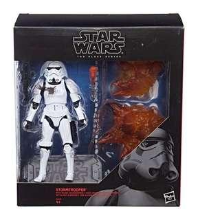 Star Wars Black Series Stormtrooper with blast accessories ToysRus Exclusive