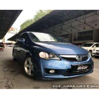 Stylish & Fuel Economy Honda Civic 1.8 For Rent - $350/Week (For Grab/Personal)