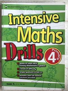 Intensive maths drills Primary 4