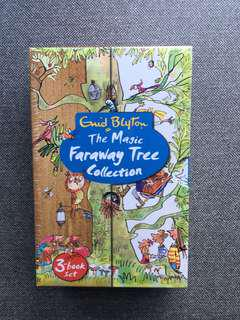 The magic faraway tree collection (3 book set) by Enid blyton