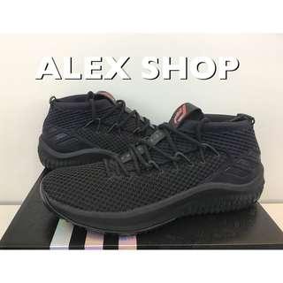 ADIDAS DAME 4 LILLARD 男 BW1518 四代 黑紅襪套 藍球鞋 11 S