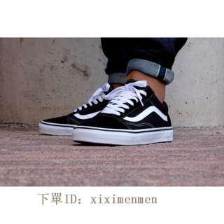 Vans Old Skool Black/white 黑白 經典 滑板鞋 情侶 VN000D3HY28
