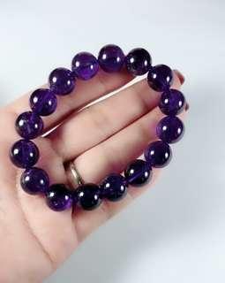 Brazil Amethyst  Bracelets 紫水晶手珠