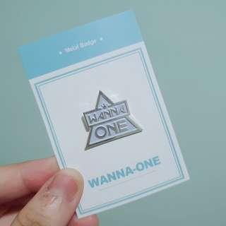 wanna one badge