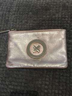 Pink Metallic Mimco Pouch