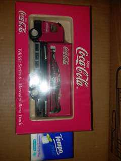 可口可樂貨櫃車