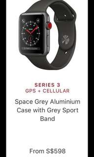 [SEALED] BRAND NEW APPLE WATCH SPACE GREY
