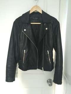 Miss Selfridge Faux Leather Jacket