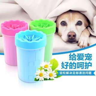🚚 寵物洗脚杯狗狗洗脚器洗爪用狗狗洗脚神器