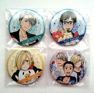 [OFFICIAL] Yuri on Ice Lawson Exclusive Badges #UNDER90