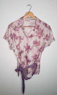 Calypso Blouse Floral Plus Size XXL