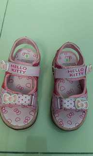 Hello kitty sandals size 8