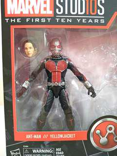BIB Marvel Legends First Ten Years Ant Man from Two Pack w/o Yellow Jacket