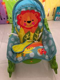Fisher rocker and chair