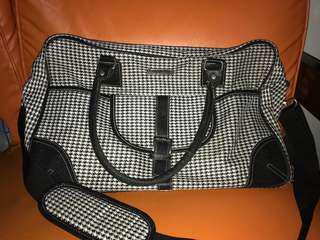 Baby couture diaper bag