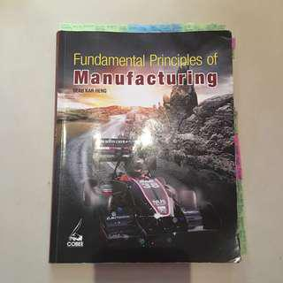 Fundamental Principles of Manufacturing