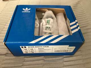 Never used Adidas Stan Smith size 1
