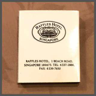 4 Match Boxes from Raffles Hotel