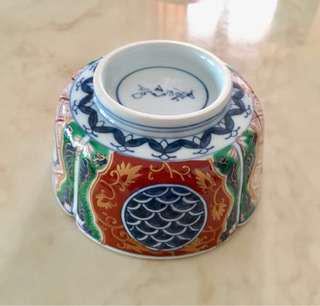 Japanese hand painted porcelain bowl