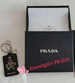 🔴#Blessing FREE for MY Follower!🔴🚫Non Followers Buy at $588🚫🌷AUTHENTIC (With Boutique Receipt) BRAND NEW🌷👜 PRADA (Prada) Keychain 💛💋No pet No smoker Clean Hse💋