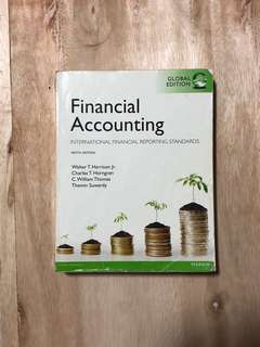 Financial Accounting - Walter T.H, Charles T.H., et al