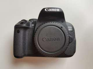Canon EOS 650D EF-S 18-55mm f/3.5-5.6 IS II Lens